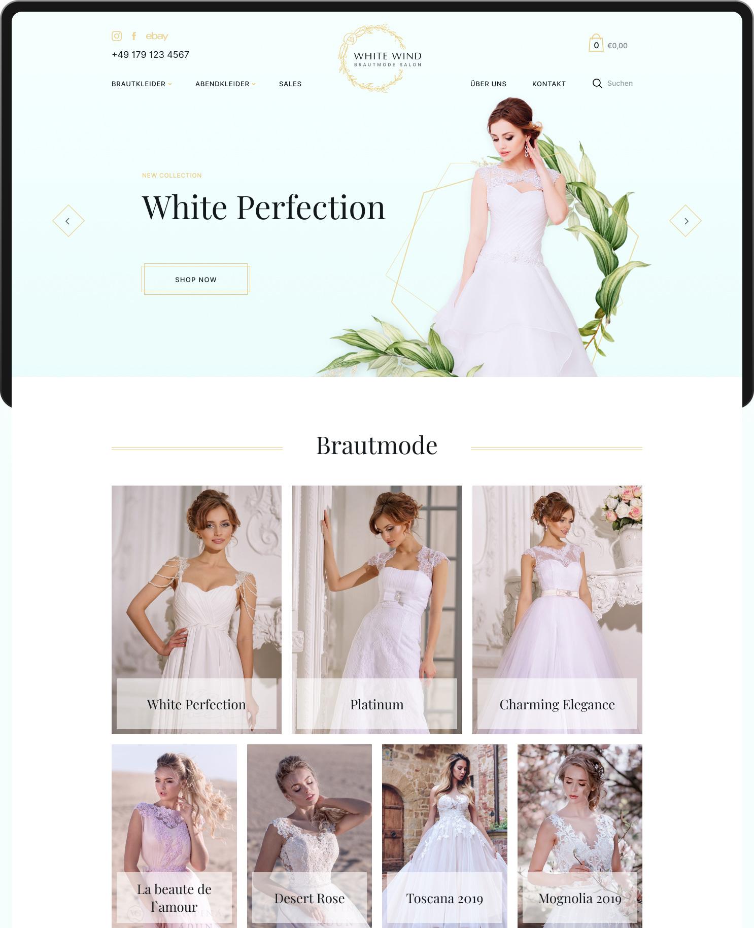 Интернет магазин свадебных платьев